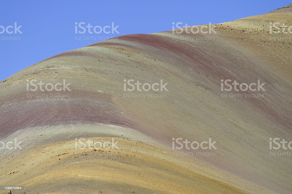 Peruvian Andes stock photo