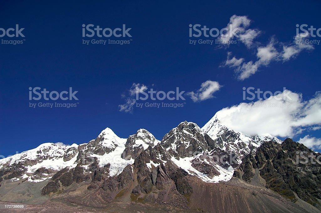 Peruvian Andes royalty-free stock photo