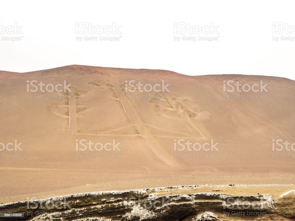 Peruvian Candelabra stock photo