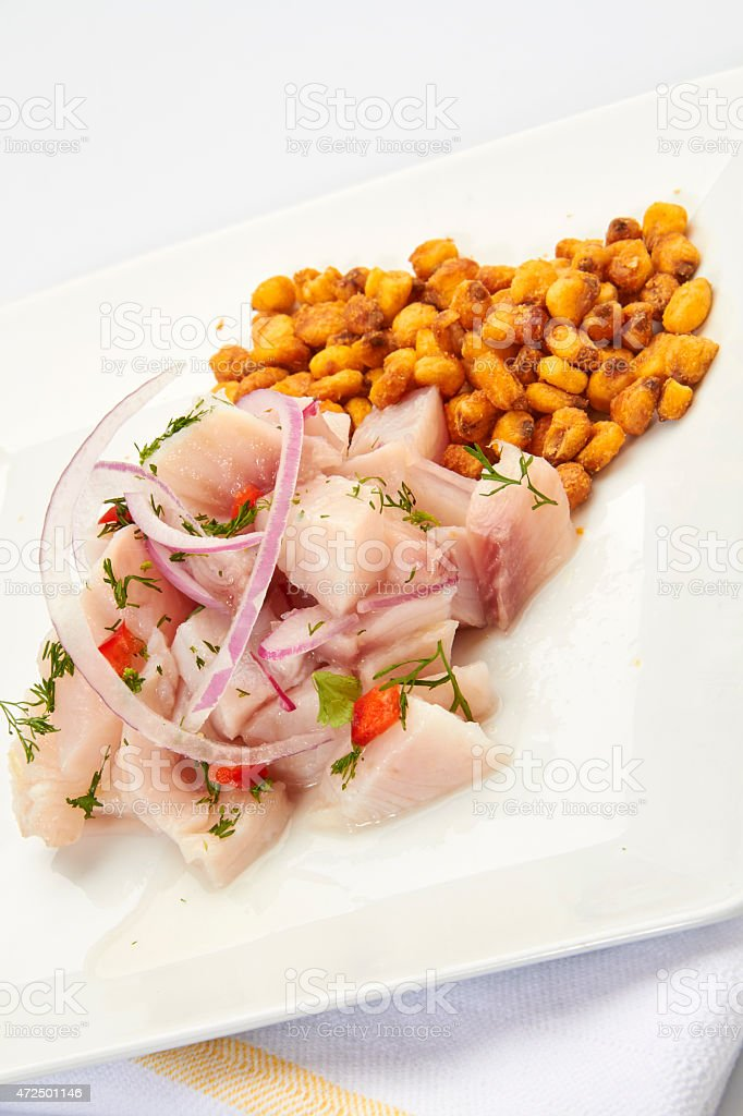 Ceviche Peruano Stock Photo Download Image Now Istock