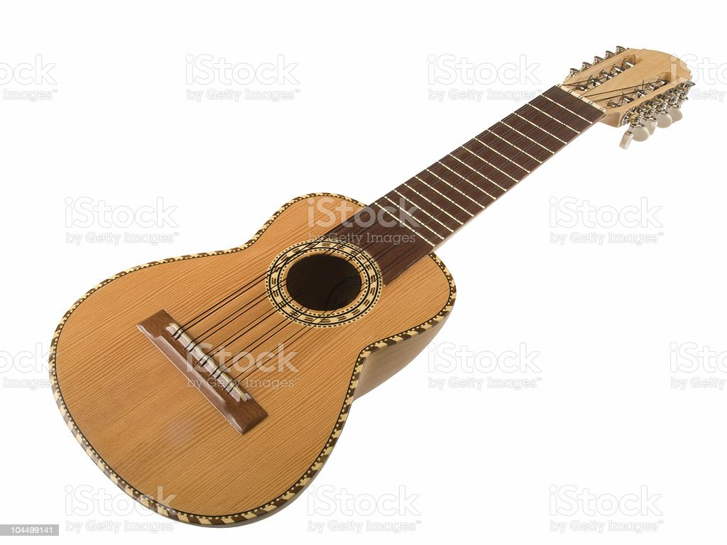 Peruvian Charango guitar stock photo