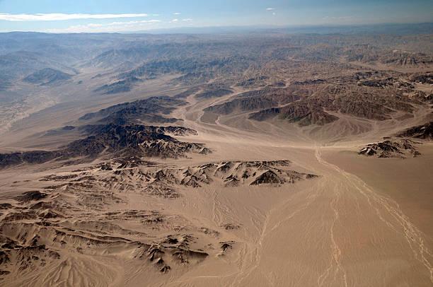 Peruvian Desert - Nazca Peru stock photo