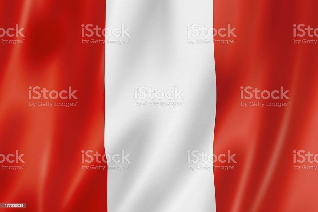 peruvian flag stock photo