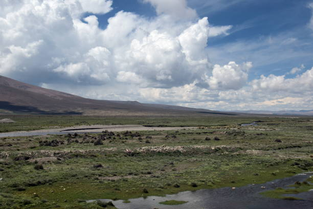 Peruvian Landscape stock photo