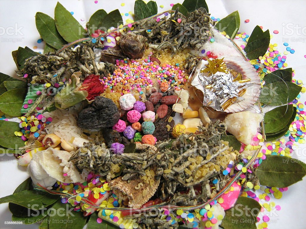 Peruvian Mesa (Medicine Bundle) stock photo