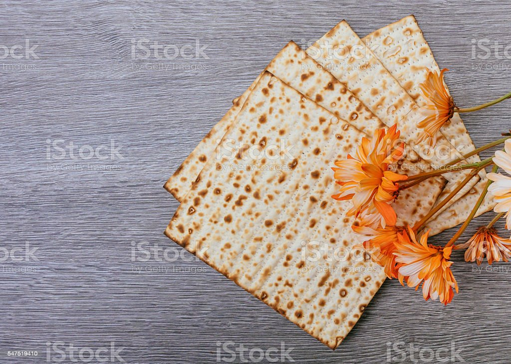 Pesah celebration concept jewish Passover holiday stock photo