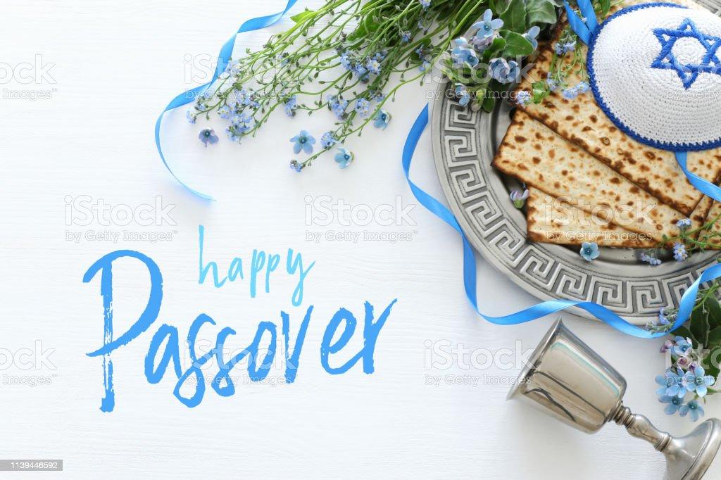 Pessah-Feier Konzept (jüdische Pessach-Urlaub) – Foto