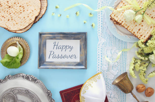 pesah celebration concept (jewish passover holiday) - passover stock photos and pictures