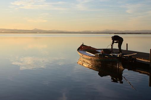 Pescador Albufera