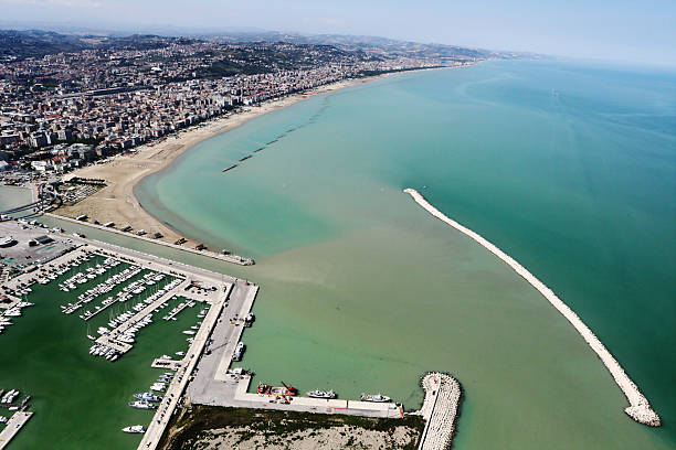 Pescara von oben – Foto