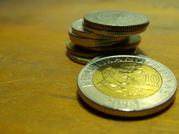 ペソの硬貨 - philippines currency ストックフォトと画像