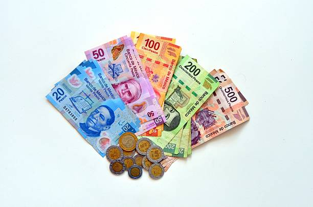 Pesos stock photo
