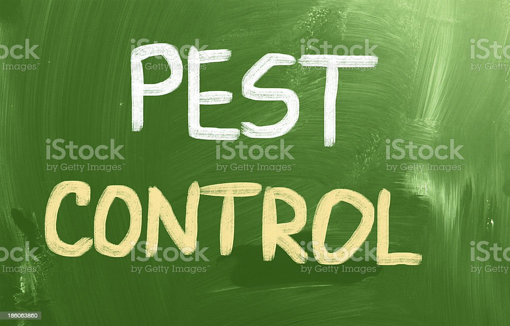 Pest Control Concept royalty-free stock photo