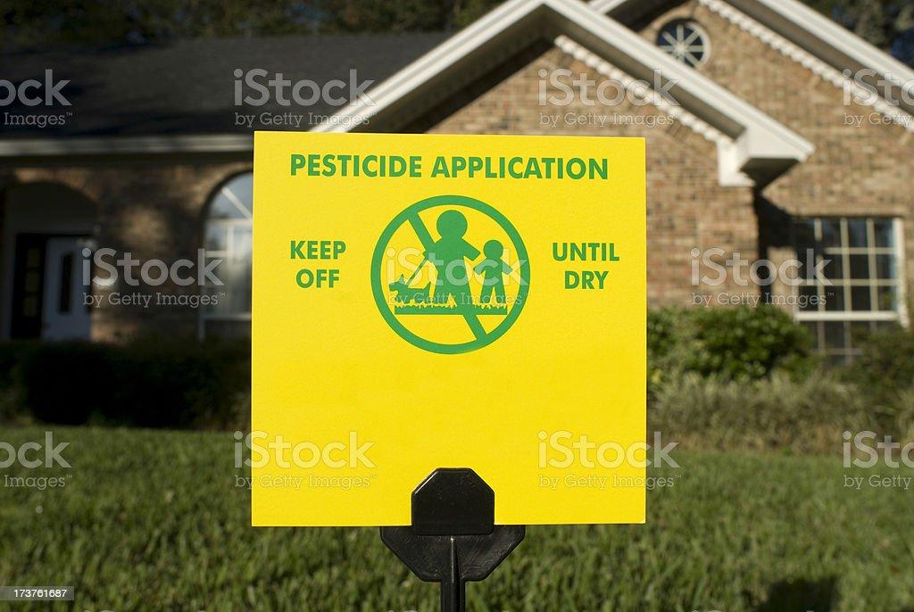 Pesticida de aplicação. - foto de acervo