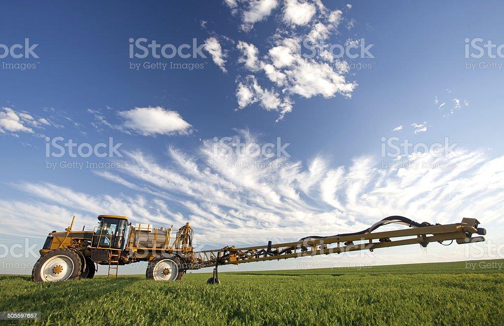 Pesticide Herbicide and Fungicide Agricultural Crop Sprayer stock photo