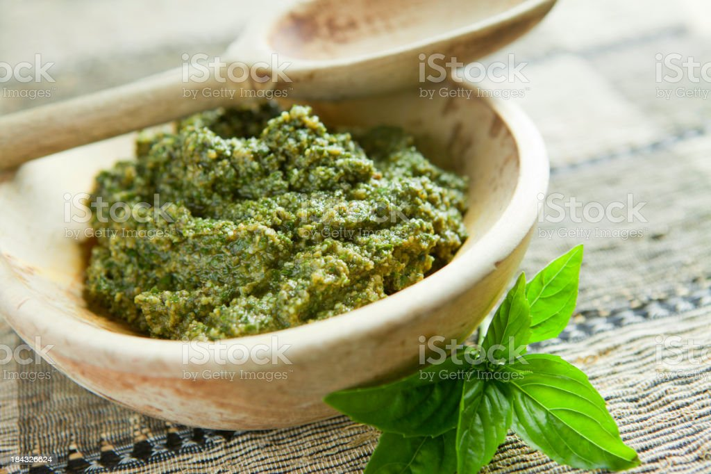 Pesto royalty-free stock photo