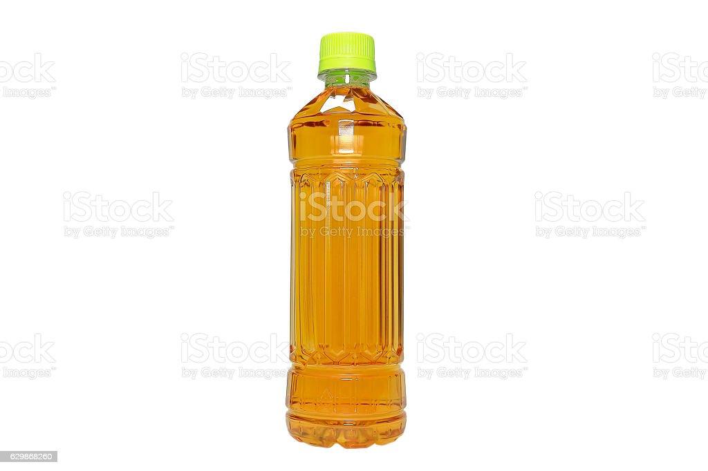 Pet bottle green tea - foto de stock