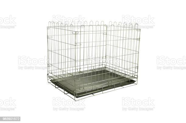 Pet cages made from steel and cages can fold able on isolated white picture id983901572?b=1&k=6&m=983901572&s=612x612&h=ksnizbnhws81dgmkvfy8ztlihmuhqoywe harxtlsvi=