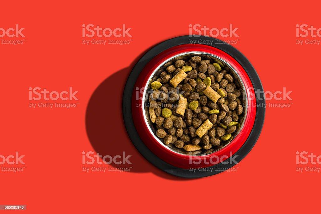 Pet food stock photo