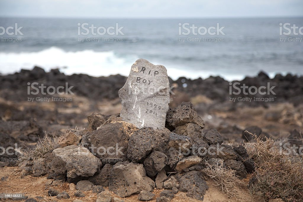 Pet grave royalty-free stock photo
