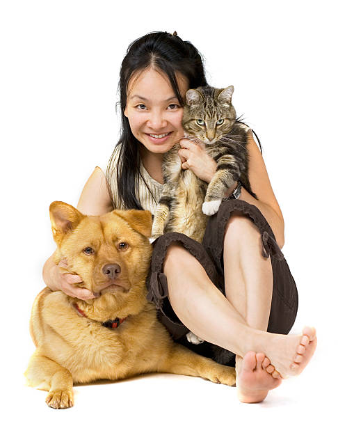 Pet Lover stock photo