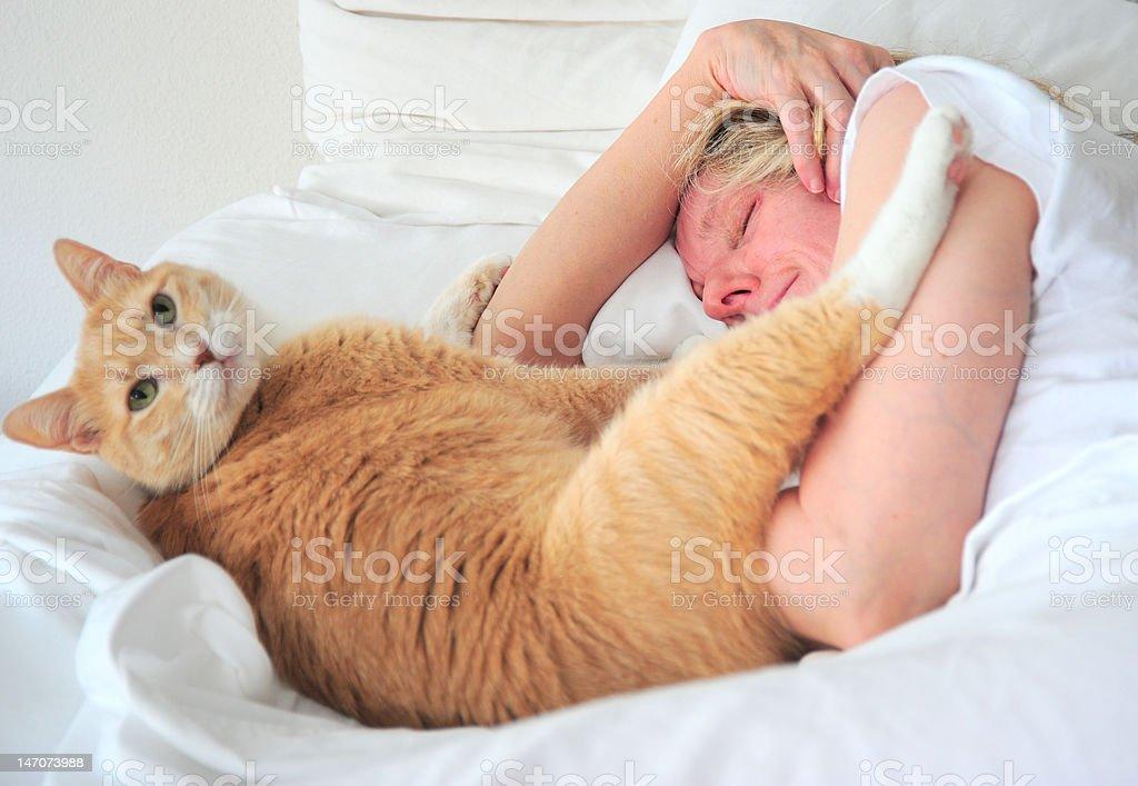 Pet Owner stock photo