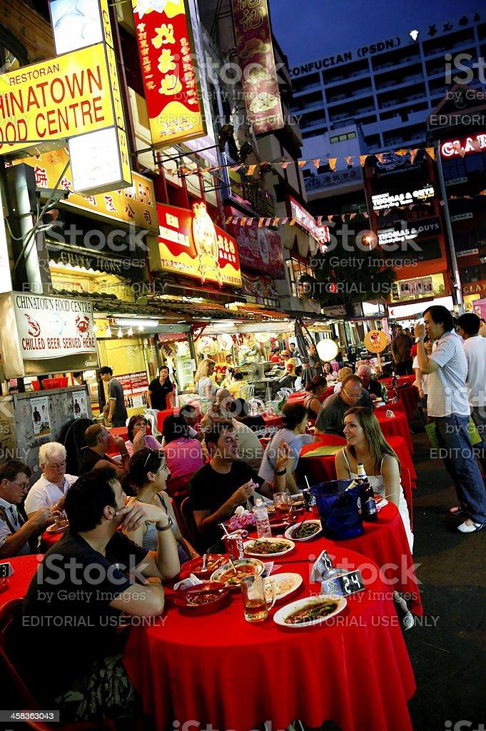 Petaling Street Kuala Lumpur royalty-free stock photo