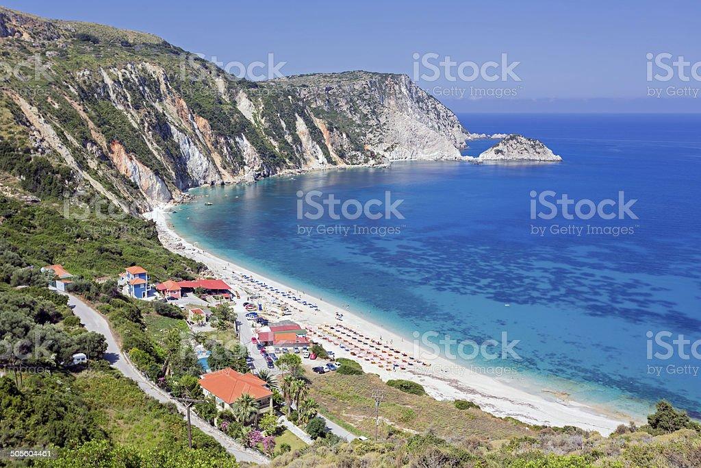 Petani beach royalty-free stock photo