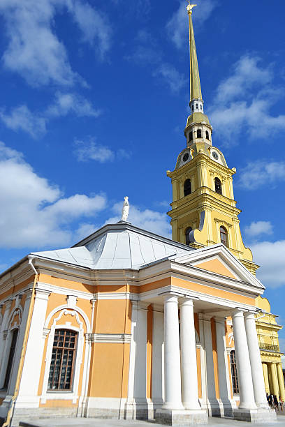 peter and paul cathedral, botnia house. - peter and paul cathedral bildbanksfoton och bilder