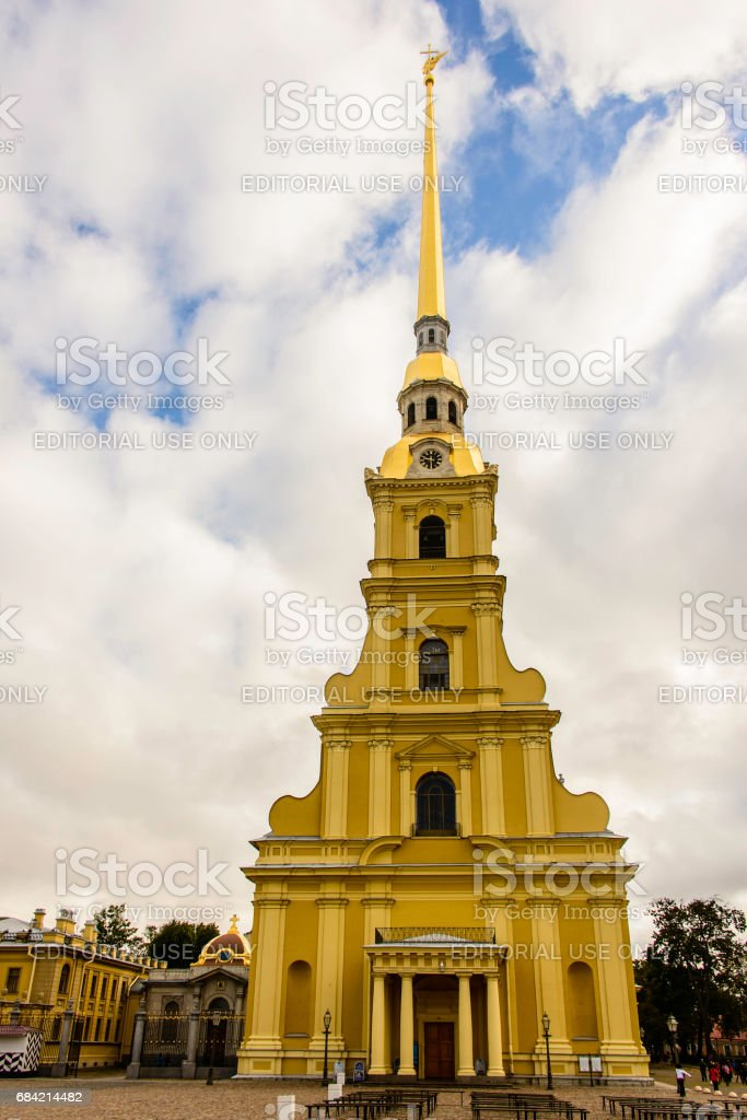 Peter and Paul Cathedral, St. Petersburg, Russia royalty-free stock photo