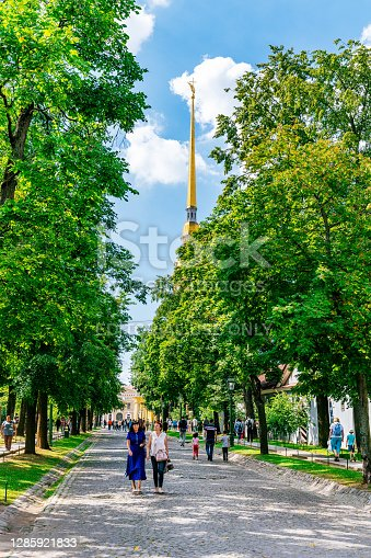 istock Peter and Paul Fortress in Saint Petersburg. 1285921833