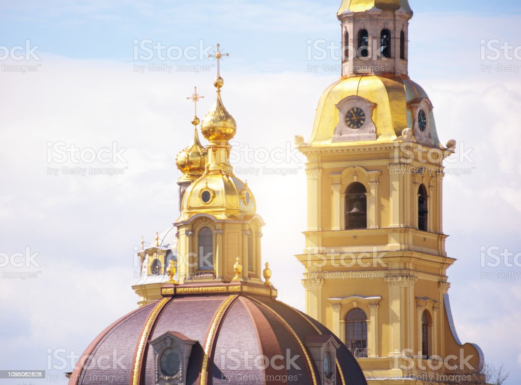 Peter and Paul Fortress, Saint Petersburg, Russia stock photo