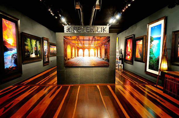 Peter Lik Gallery in Key West Florida stock photo