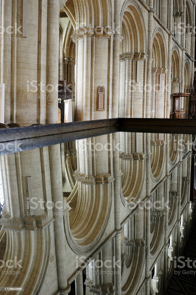 Peterborough Cathedral royalty-free stock photo