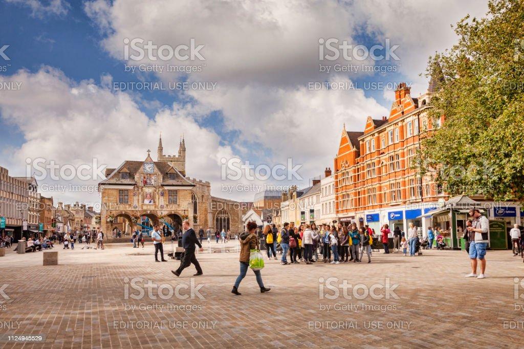 Peterborough Lincolnshire, England, UK stock photo