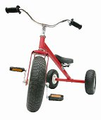 A child's red all-terrain tricycle.All images in this series...