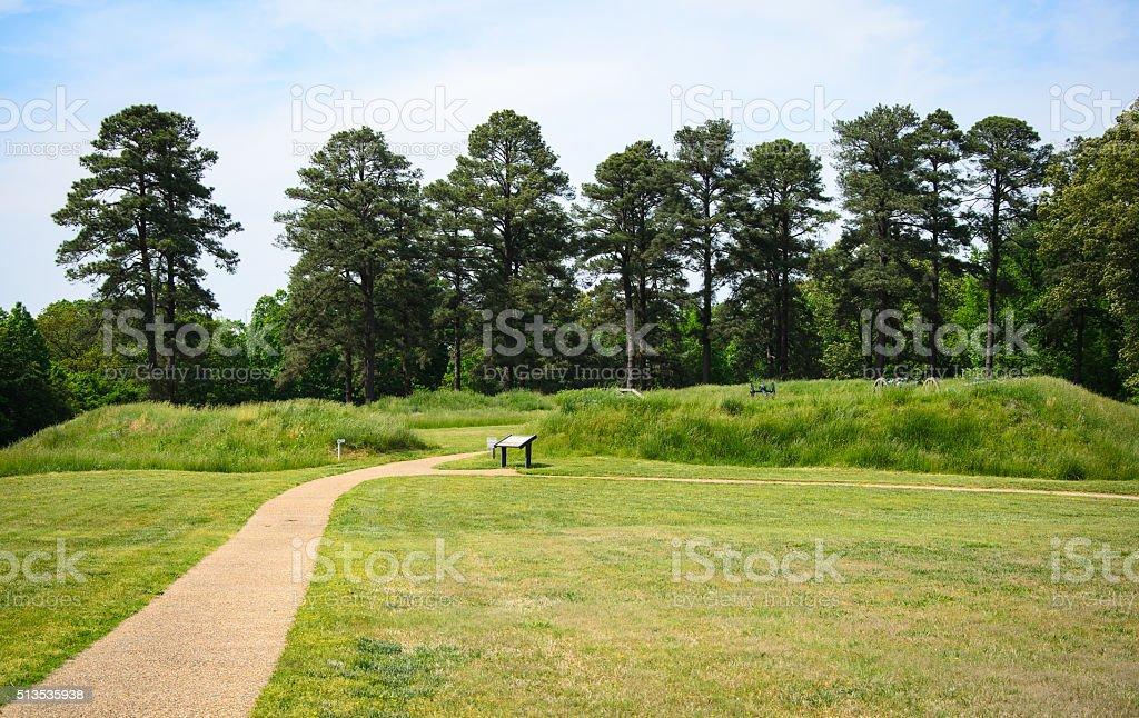 Petersburg National Battlefield stock photo