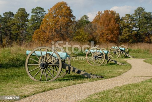 Three cannons known as