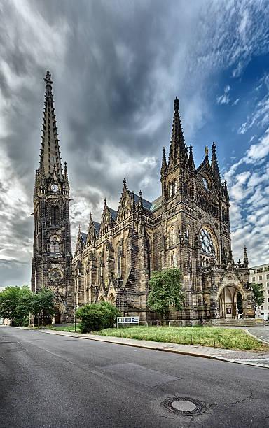 peterskirche leipzig - sankt peterskyrkan münchen bildbanksfoton och bilder