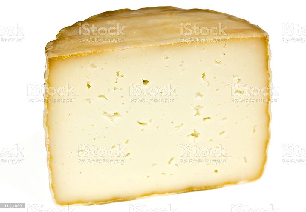Petit Basque Cheese stock photo