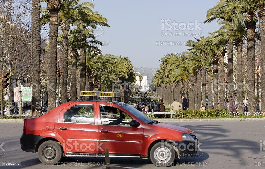 Petit taxi, Fez, Morocco royalty-free stock photo