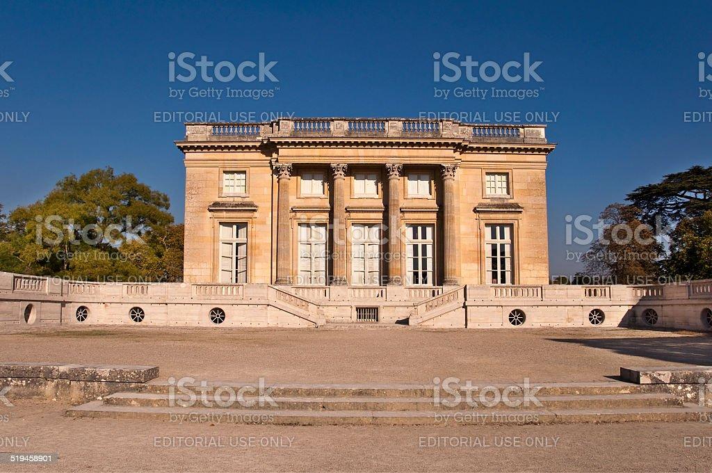 Petit Trianon in Versailles, Paris France stock photo