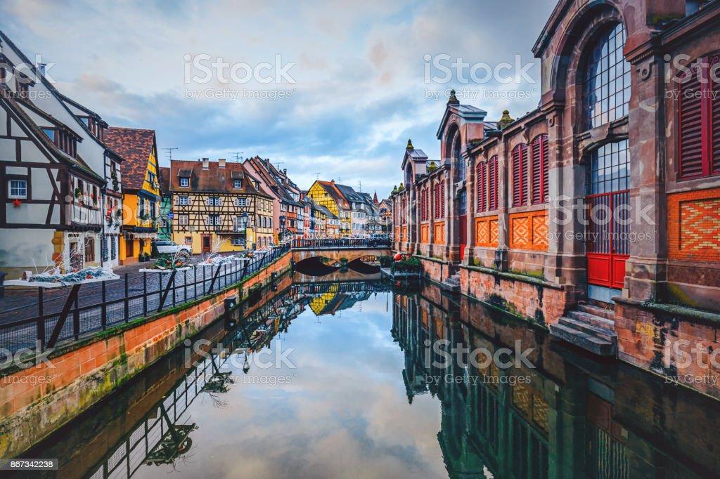 Petit Venice, Colmar, France - foto stock