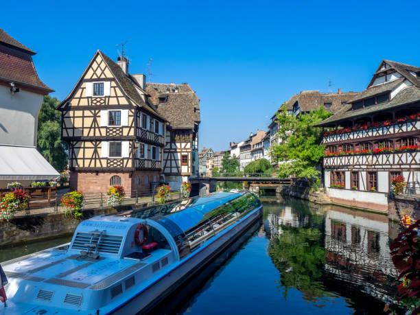 Petite France, Strasbourg - foto stock