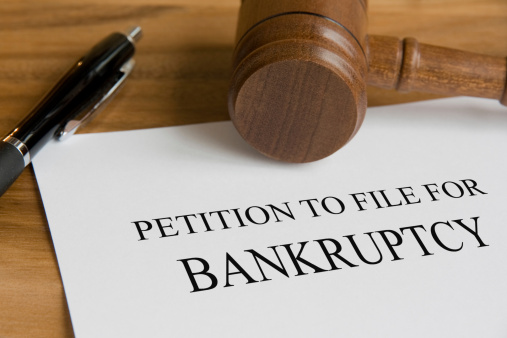 182148217 istock photo A petition to file for bankruptcy note 160239732