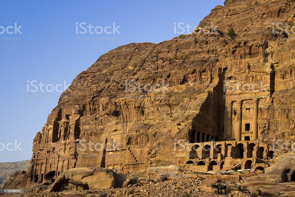 Petra, Jordan royalty-free stock photo