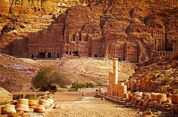 Petra, Jordania - foto de stock