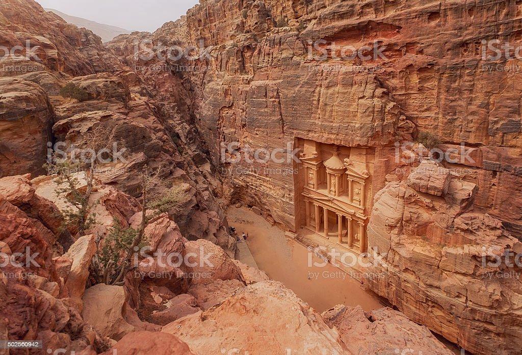 Petra. Jordan stock photo