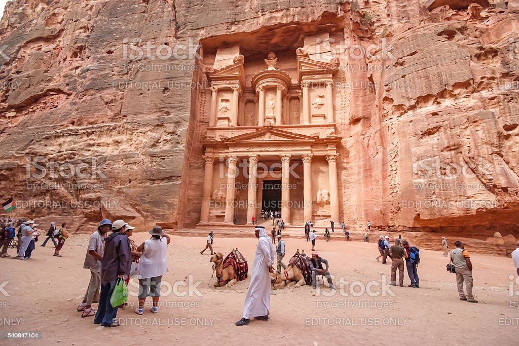 Petra, Jordan stock photo