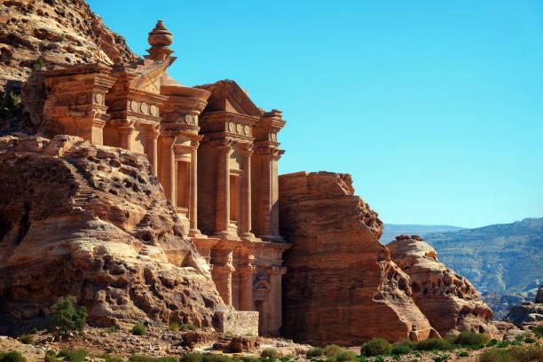 petra jordanie - jordan photos et images de collection
